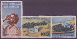 COTE DES SOMALIS N° 20 à 22**  PAR AVION  Neuf Sans Charniere - Côte Française Des Somalis (1894-1967)
