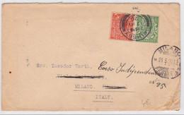 GB - 1926 -  LETTRE De LONDON Pour MILANO (ITALIE) - 1902-1951 (Rois)