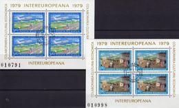 CEPT Archäologische Funde 1976 Rumänien Block 133 Plus 134 ** 6€ EUROPA Bloc Sheet From Romania - Emissions Communes
