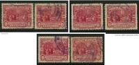 COSTA RICA - 1930 - C. COLOMBO -  N. 151 Usati - Cat. 1,80 € - Lotto N. 5 /6 /8 - Costa Rica
