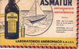 PAPEL SECANTE BLOTTER ASMATUR ANTIASMATICO Y ANTIALERGICO LABORATORIOS ANDROMACO S.A.I.C.I. MEDICAMENTOS LABORATORIES - Blotters