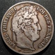 5 Francs 1834 T, Louis-Philippe, TB35 - J. 5 Francs