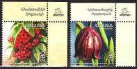 ARMENIA 2011-07 Flora: Flower And Berries. UR CORNER, MNH - Unclassified