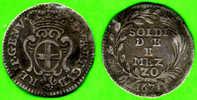 [DO] GENOVA - Dogi Biennali  2 E1/2 SOLDI 1671 (Argento / Argent) - Regional Coins