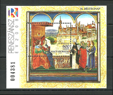 Hungary, 2008 ( King & Queen - History ), MS - MNH (**) - Storia