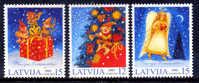 LETONIA LATVIA / NAVIDAD 2002 Christmas Nöel / Ft14 - Navidad
