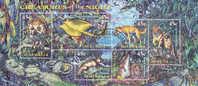 Australia-1997 Creatures Of The Nighty Used Souvenir Sheet - Gebruikt