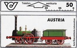 *AUSTRIA* - Scheda Usata - Treni
