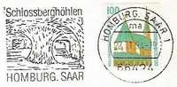 Homburg, Saar  (1994) Grotte De Grès Bigarré / Cave In Variegated Sandstone / Schlossberghöhlen. Spéléologie, Speleology - Otros