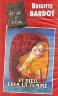 """V-H-S  Brigitte Bardot  """"  Et Dieu Créa La Femme  """" - Action, Aventure"""