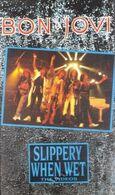 "V-H-S  Bon Jovi  ""  Slippery When Wet  "" - Concert Et Musique"