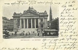 AK / CPA Bruxelles Brüssel La Bourse Börse 1900 #34 - Banken
