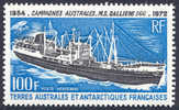 FSAT C28 Mint Never Hinged 100fr M.S. Gallieni From 1973 - Airmail