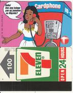 HONG KONG - Calling To Philippines, Hong Kong Telecard $100(letter D, Large Thin CN, 0 With Barred), Used - Hong Kong