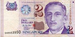* SINGAPORE - 2 DOLLARS 2000 UNC - P 45 - Singapore