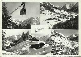 AK Schweiz Klosters GR Mehrbild Bergbahn 1961 #0763 - GR Grisons