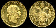 [DO] IMPERO AUSTRIACO - Francesco Giuseppe I  DUCATO 1915 (Proof  Restrike)[Oro /Gold /Or] - Autriche