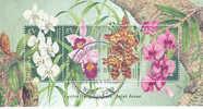 Australia-1998 Orchids    Used Souvenir Sheet - Sheets, Plate Blocks &  Multiples