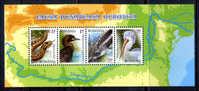 RUMANIA 2010 ROMANIA / FAUNA AVES Birds Vögel REPTILES / C3010 - Pájaros