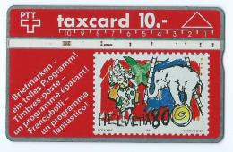 Suisse Taxcard Helvetia 80 - Svizzera