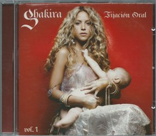- CD SHAKIRA FIJACION ORAL VOL 1 - Música & Instrumentos