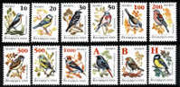 Belarus - Wit-Rusland - Biélorussie  : 16-06-2006 (**) Set 12v   Bloc : Definitives - Garden Birds - COATED PAPER - Belarus