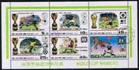Korea 1978, Michel # 1747 - 1752 O Kleinbogen Fussball WM Pokal Gewinner - Ohne Zuordnung