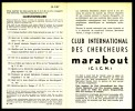 Supplément - Questionnaire  C.I.C.M. N° 2 Du MJ N° 57 . - Marabout Junior