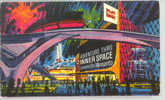 Adventure Thru Inner Space Presented By Monsanto Atomobile Disneyland Vintage Postcard - Disneyland