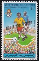 Timbre-poste Gommé Neuf** - Finale De La Coupe D'Afrique Des Nations - N° 695 (Yvert) - N° 571 (Michel) - Djibouti 1992 - Djibouti (1977-...)