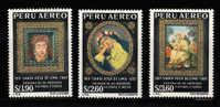 Peru Scott No. C213-15 Mnh  Year 1967 - Peru