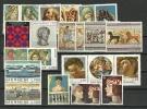 Année Complete  1975.  22 T-p Neufs **.  Cote 11.50 € (series Art Etrusque,Giotto & Michel-Ange,etc) - Saint-Marin