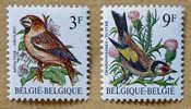 2189-2190  Oiseaux  (2 Timbres) - Belgique