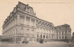 D�p. 02 - SAINT-QUENTIN. - Fa�ade du Palais de Fervaques. Voyag�e 1907. Ed. P. D. n�67
