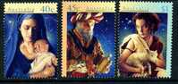 Australia 1996 Christmas Set Of 3, MNH - Mint Stamps