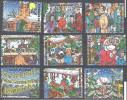 Belgique 1996 COB 2671 - 2679 Neuf ** Cote (2016) 7.20 Euro Noël - Neufs