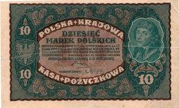 POLAND 4 BANKNOTES 20 & 50 & 100 & 500 Zlotych POLONIA - Poland