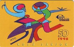 *CAPO VERDE* -  Scheda A Chip Usata - Cape Verde