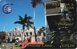 *ANTIGUA & BARBUDA: 3CATB* - Scheda Usata - Antigua And Barbuda