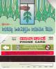 BANGLADESH(Urmet) - Hand Planting A Tree(reverse B, 2 Logos-Urmet Patent), First Issue 100 Units, Used - Bangladesh