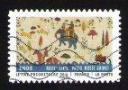 Timbre Oblitéré Used Stamp Tissus Du Monde INDE - XVIIIe - XIXes Paris Musée Guimet FRANCE 2011 - France
