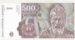 Romania 500 Lei 1991 Uncirculated - Rumänien