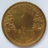 1 Franc 1944  Afrique De L´Ouest - Africa Orientale E Protettorato D'Uganda