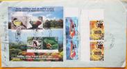 FRANCOBOLLI USATI INDIA MAHA BODHI & WITHE HORSE TEMPLE TEMPIO SURI GANDHI DUSSEHRA MYSORE CLOVE CARDAMON - India