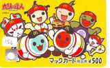 CARTE McDonald's  JAPON (156) MacDonald's *  McDonald´s  JAPAN *  U CARD * 1008 - Lebensmittel