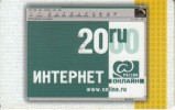 RUSSIA - ROL Internet Prepaid Card 20 RU, Exp.date 31/12/00, Used - Russia
