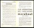 Supplément - Questionnaire  C.I.C.M. N° 24 Du MJ N° 79 . - Marabout Junior