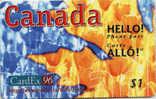 CANADA-HELLO PHONE PASS-CARDEX 96-$1 - Canada