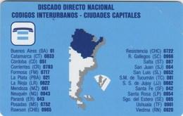 *ARGENTINA* -  Scheda NUOVA (MINT) - Argentinien