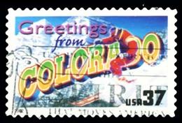 Etats-Unis / United States (Scott No.3701 - Greetings From America - 37¢) [o] Very Fine - Oblitérés